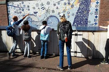 Kunstwandeling Zomerschool 2020